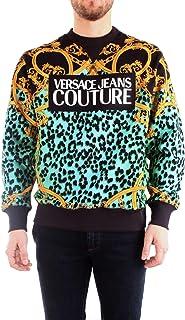 Versace Jeans Couture Men's Leo Baroque Crewneck Sweatshirt