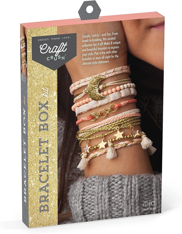 Craft Crush Cheap SALE Start – Our shop OFFers the best service DIY Bracelet Kit Box 8 Make Styl