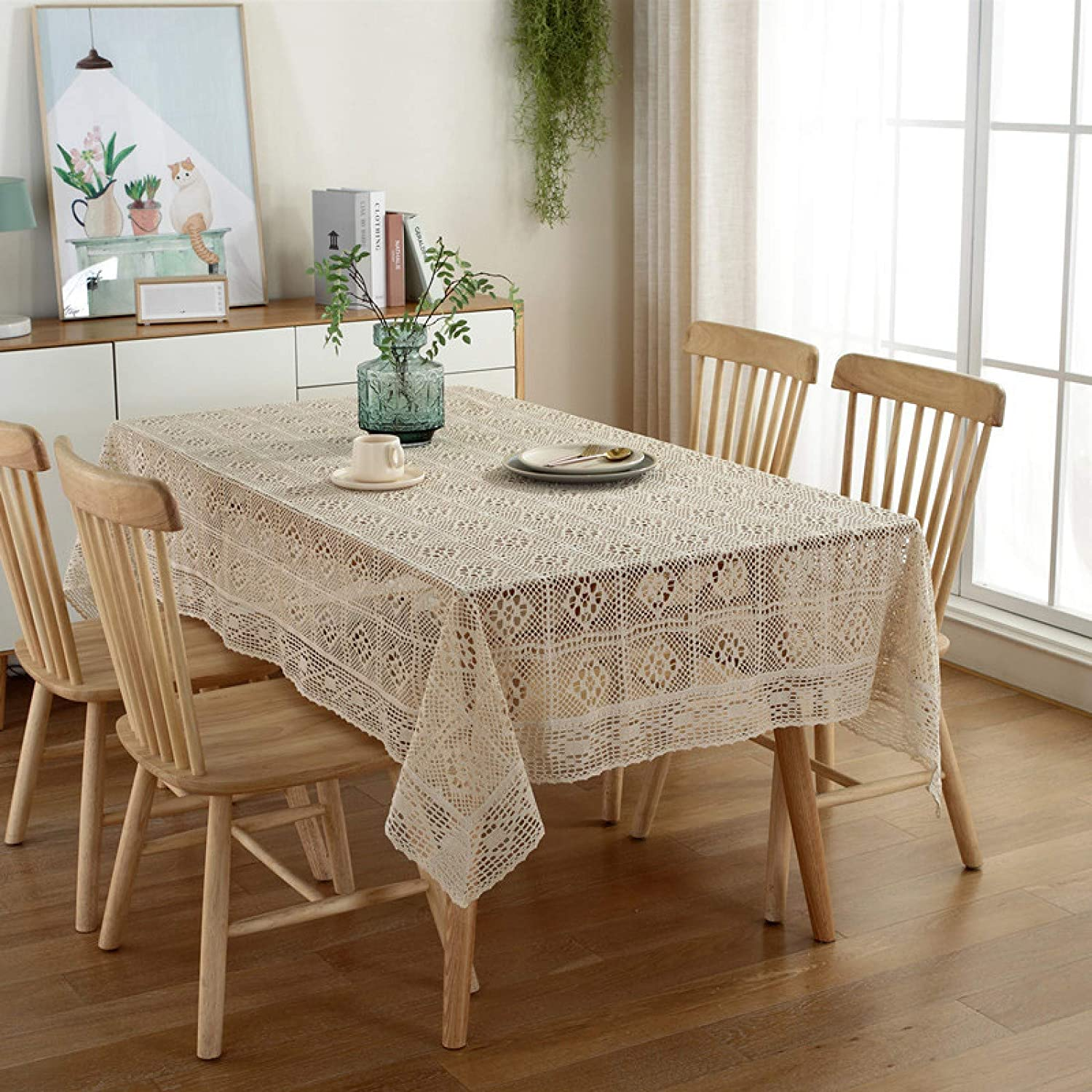 Decorative 40% OFF Cheap Sale Fabric OFFicial store Table Cover for and Indoor UseKnitted Outdoor