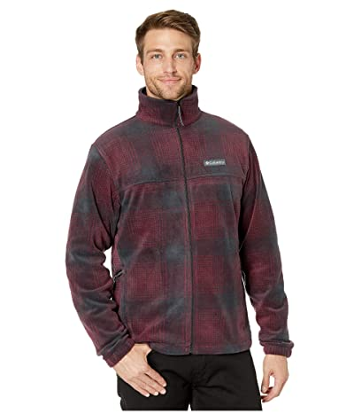 Columbia Steens Mountaintm Printed Jacket (Mountain Red Check) Men