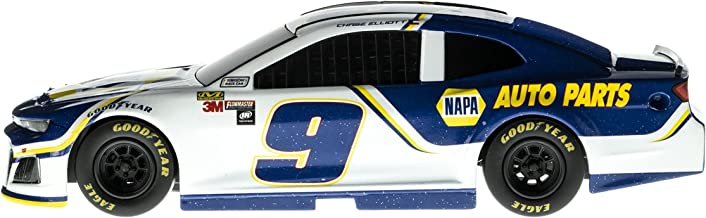 Lionel Racing 15075 NASCAR Authentics 2018 Chase Elliott #9 NAPA Lionel Racing Diecast, White, Blue, Yellow; 1: 24 Scale