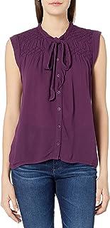VOLCOM womens Volcom Womens' Even More Button Front Blouse T-Shirt