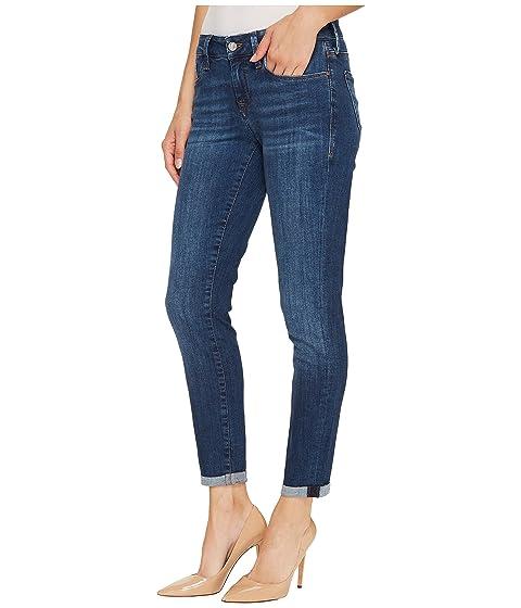 delgado Indigo tobillo Tribeca Jeans Dark de mediana Tribeca Dark altura Indigo Mavi en qR1wFEnH