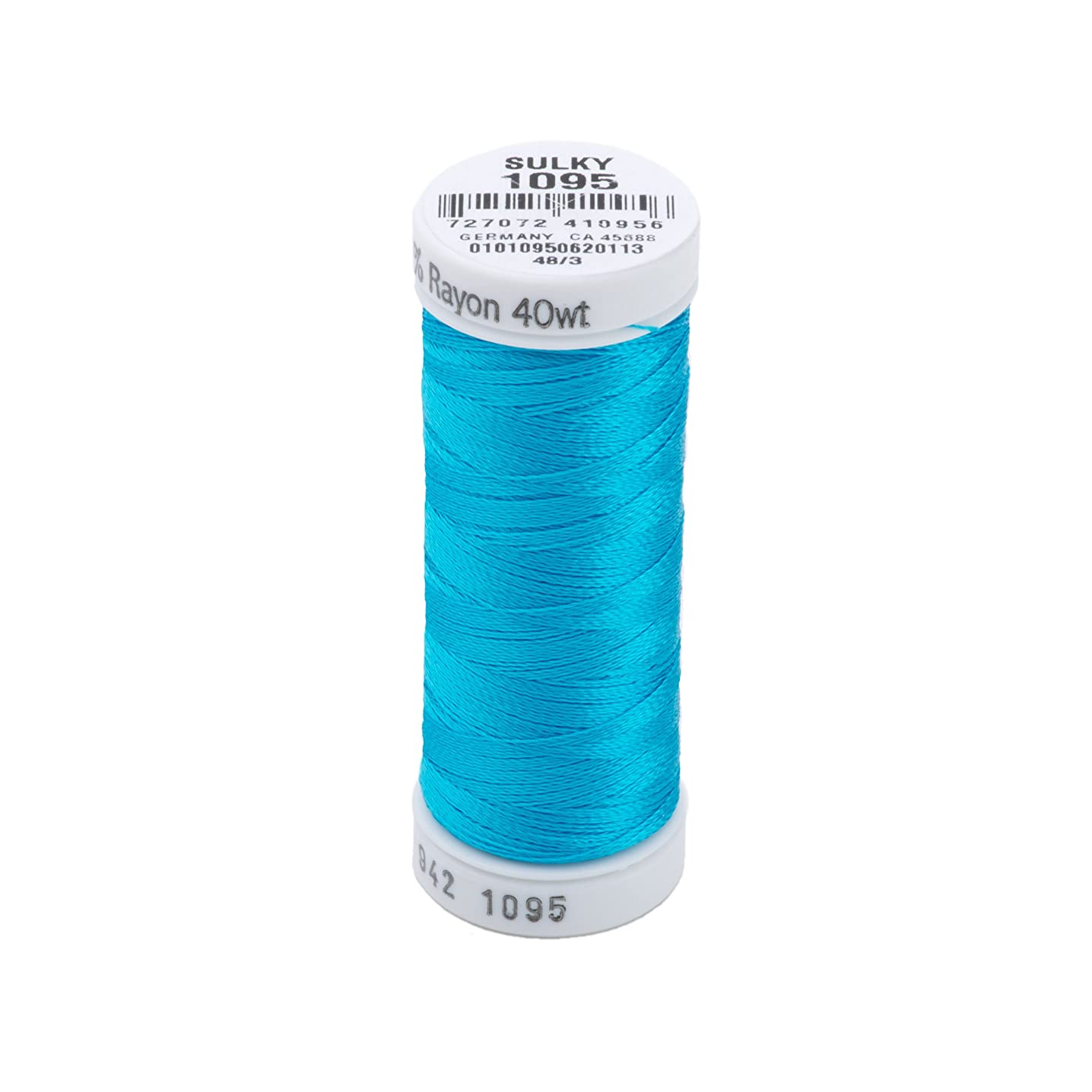 Sulky Rayon Thread for Sewing, 250-Yard, Turquoise