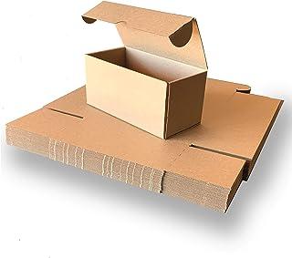 Giftgarden Scatole di Cartone Imballaggio Piatte 25 Pezzi 280x204x51 MM B5 Scatole per spedizione o Lo stoccaggio Bianca