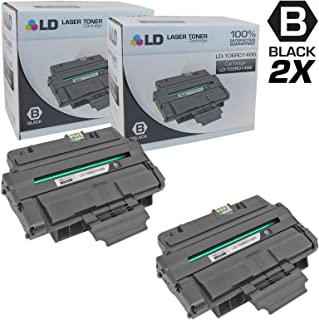 LD Compatible Toner Cartridge Replacement for Xerox 106R1486 (Black, 2-Pack)