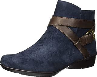 Best navy blue wide calf boots Reviews