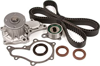 Evergreen TBK112WPT Fits Toyota Geo Chevy 4AGE DOHC Timing Belt Kit w/Water Pump