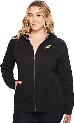 Sportswear Rally Metallic Hoodie (Size 1X-3X)