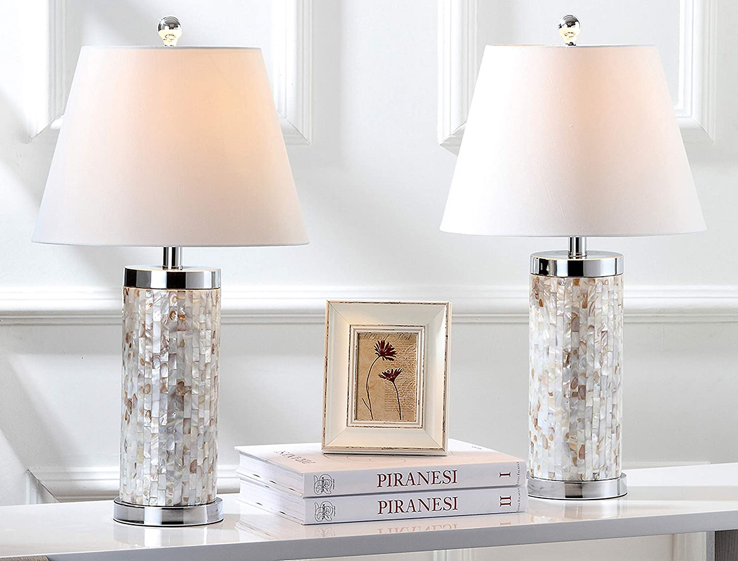 Safavieh Lighting Collection Lowest price challenge Diana Popular overseas Ivory 22-inch Shell Nautical