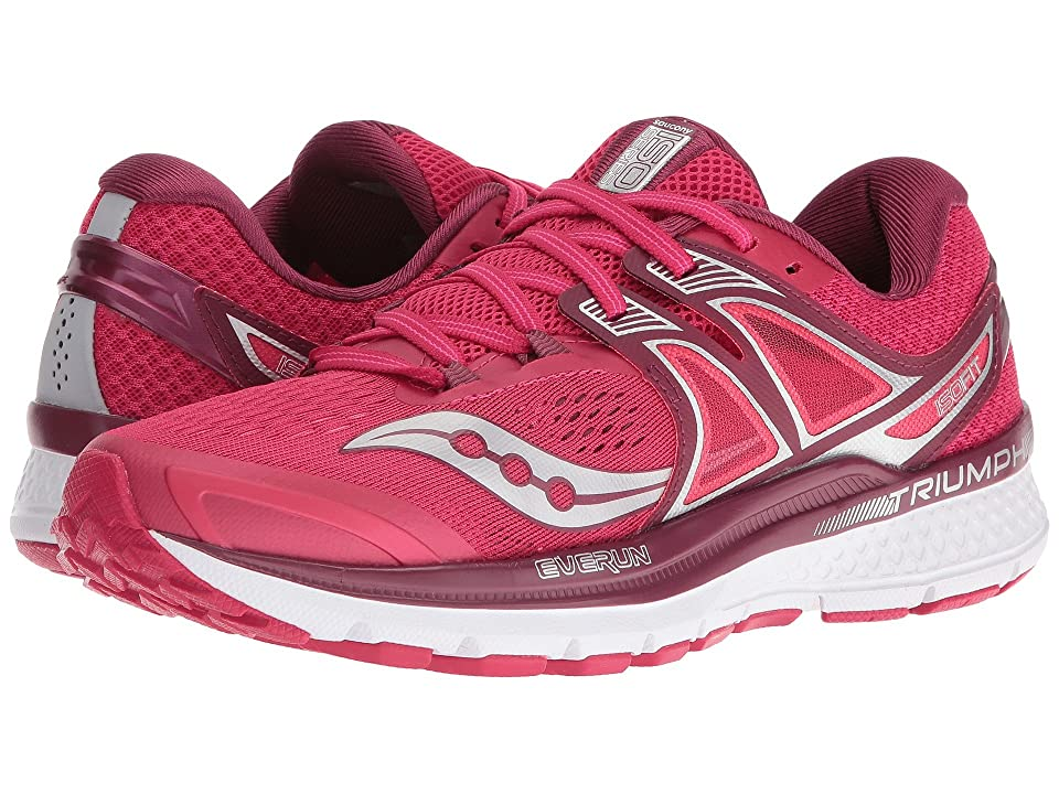 Saucony Triumph ISO 3 (Pink/Berry/Silver) Women