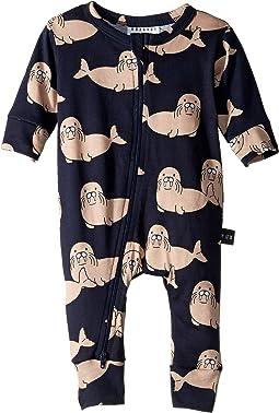 352c012e Aden anais long sleeve zipper one piece infant   Shipped Free at Zappos