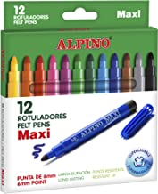 Alpino AR000006 - Estuche 12 rotuladores