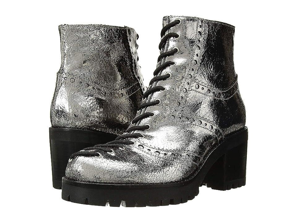 McQ Hanna Lace Boot (Silver) Women