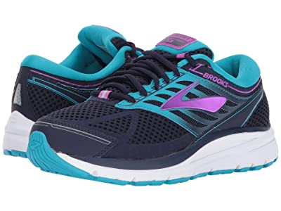 Brooks Addiction 13 (Evening Blue/Teal Victory/Purple Cactus Flower) Women