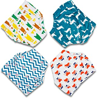 Training Pants Toddler Potty Training Underwear for Boys and Girls, Cotton, Washable and Reusable-12M-3T