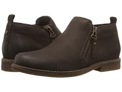 Hush Puppies Mazin Cayto (Dark Brown Nubuck) Women