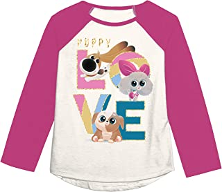 Jumping Beans Girls 4-12 Puppy Love Graphic Tee