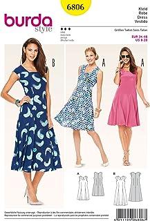 Burda Sewing pattern, 6806 - Summer Dresses