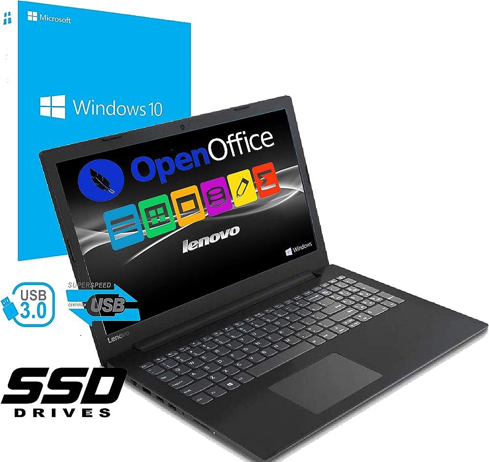 Notebook pc portatile lenovo led da 15.6