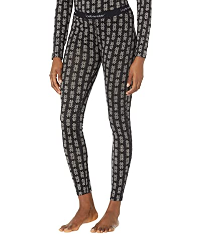 Icebreaker 200 Oasis Leggings Snow Heritage Women
