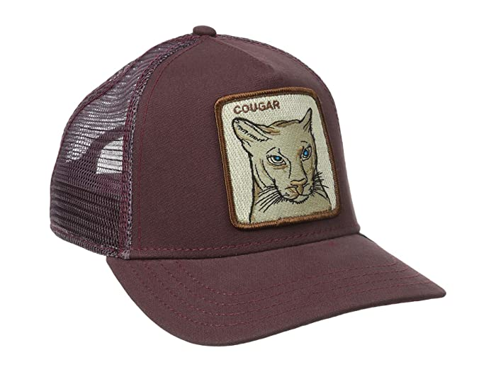 Goorin Brothers  Animal Farm Snap Back Trucker Hat (Mar Cougar) Caps
