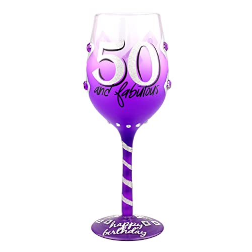 Top Shelf 50th Birthday Wine Glass Unique Thoughtful Gift Ideas For Friends And Family