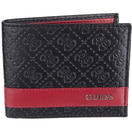 Guess Leather Slim Bifold Wallet Barreño para Hombre
