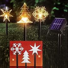 Kunststoff Weihnachtsfeier. H/äuser wei/ß 1.80W 220.00V iwish Wasserdicht 20 LED Solar-Licht Kristall Sterne Solar String Lichter f/ür drau/ßen Hochzeit G/ärten