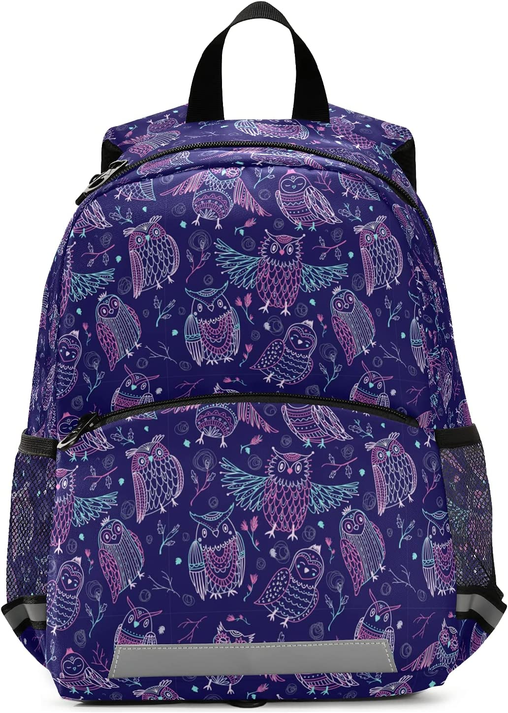 Purple Owls Excellent Cheap bargain Stick Drawing Backpack for Boys and Pres Girls Kid's