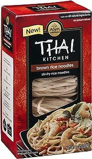Thai Kitchen Gluten Free Brown Rice Noodles, 8 oz, Pack of 6