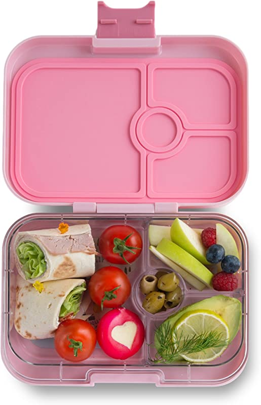 Yumbox Panino Leakproof Bento Lunch Box Container For Kids Adults Hollywood Pink