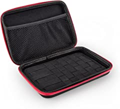 Xcellent Global Vape/MOD/E-CIG Semi Hard Shell Case Organizer Coil, Tanks, Mods, Bottles Coil Supplies Black (Case Only) HG240