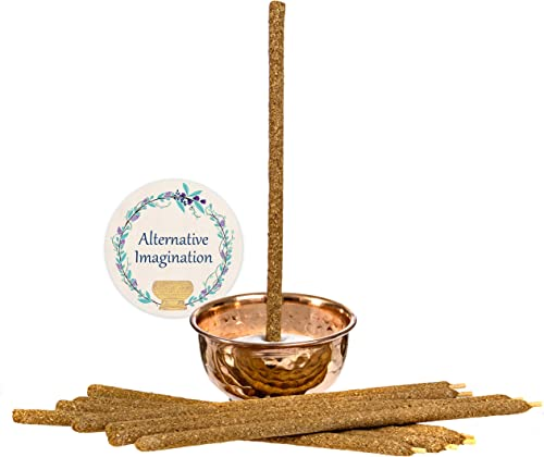 wholesale Rolled Palo Santo Incense with Hammered wholesale Copper Offering Bowl Kit. outlet online sale Includes 4oz Sand and 10 Hand Rolled Palo Santo Incense. outlet sale