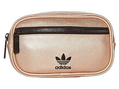 adidas Originals Originals PU Leather Waist Pack (Rose Gold/Black) Bags