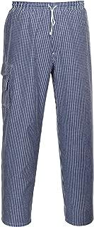 check PORTWEST C078CHRXXXL C078-Chester Chefs Trousers XXXL