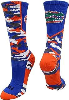 TCK University of Florida Gators Woodland Camo Crew Socks