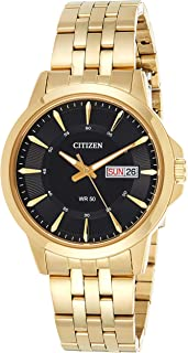 CITIZEN Mens Quartz Watch, Analog Display and Stainless Steel Strap - BF2013-56E