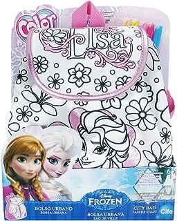 Color Me Mine Frozen City Bag Metallic Pink