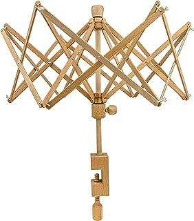 Stanwood Needlecraft Wooden Umbrella Swift Yarn Winder – Medium