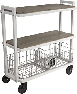 Best small stainless steel rolling cart Reviews