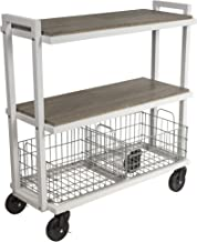 Best stainless steel wire utility cart Reviews