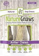 Nature Gnaws USA Elk Antlers - 100% Natural Dog Chews
