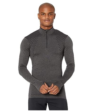 Craft Fuseknit Comfort Zip (Black Melange) Men