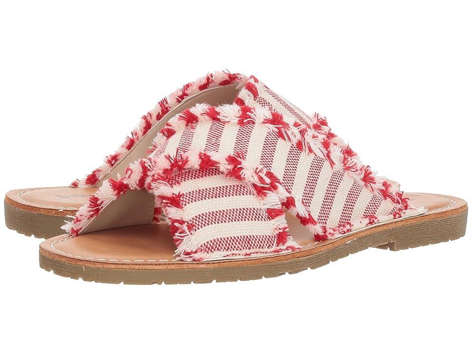 Dirty Laundry Edina (Red Stripe Fabric) Women