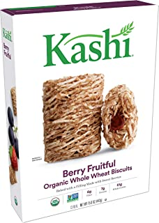 Kashi Organic Berry Fruitful Breakfast Cereal - Non-GMO Project Verified, 15.6 Oz Box
