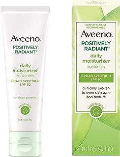 Aveeno Positively Radiant Daily Moisturizer Spf#30, 1oz, 1 Oz