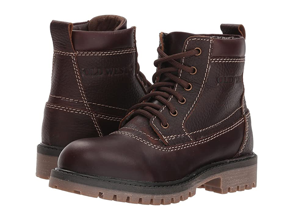 Old West Kids Boots Foreman (Little Kid/Big Kid) (Brown Oil) Boys Shoes