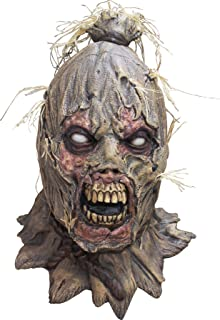 UHC Zombie Scarecrow Mask Scareborn Creepy Horror Theme Party Halloween