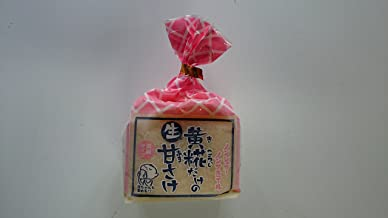山崎糀屋 ノンシュガー、ノンアルコール 糀(こうじ) だけのあま酒 濃縮タイプ 500g
